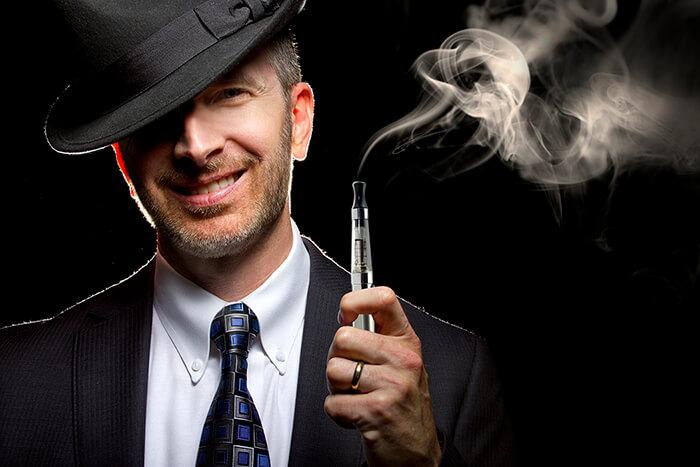 e-cigar smoking