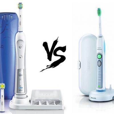oral b vs sonicare