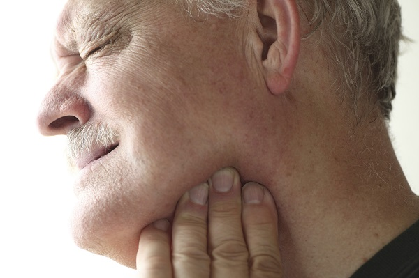 Jaw pain in older man