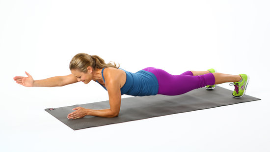 One-Handed Planks